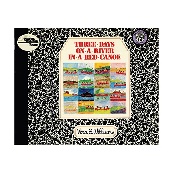 RL 3.5 : Reading Rainbow Books : Three Days on a River in a Red Canoe (Paperback)