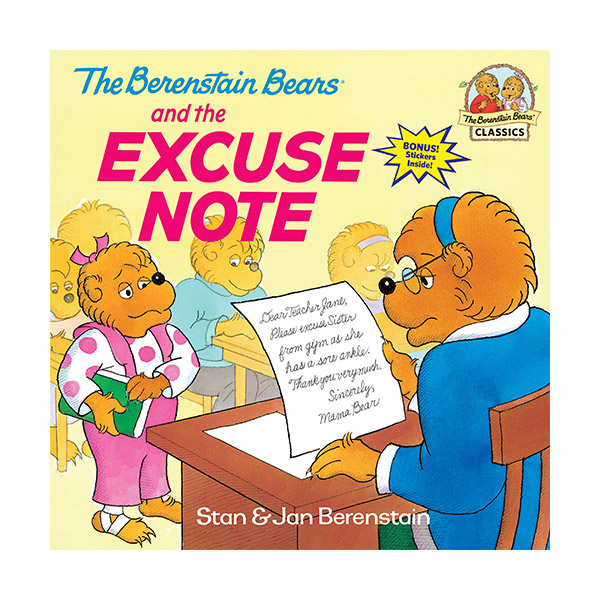 RL 3.5 : The Berenstain Bears and the Excuse Note (Paperback)