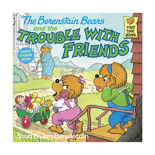 RL 3.5 : The Berenstain Bears and the Trouble With Friends (Paperback)