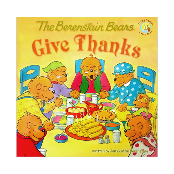 RL 3.5 : The Berenstain Bears Give Thanks (Paperback)