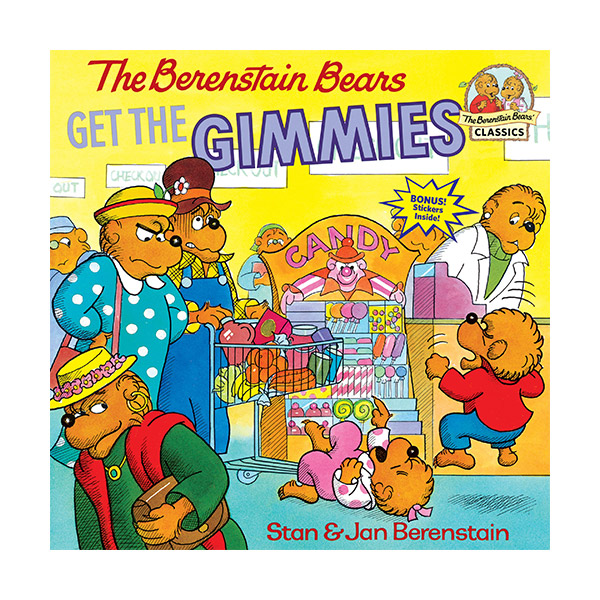 RL 3.6 : The Berenstain Bears Get the Gimmies (Paperback)