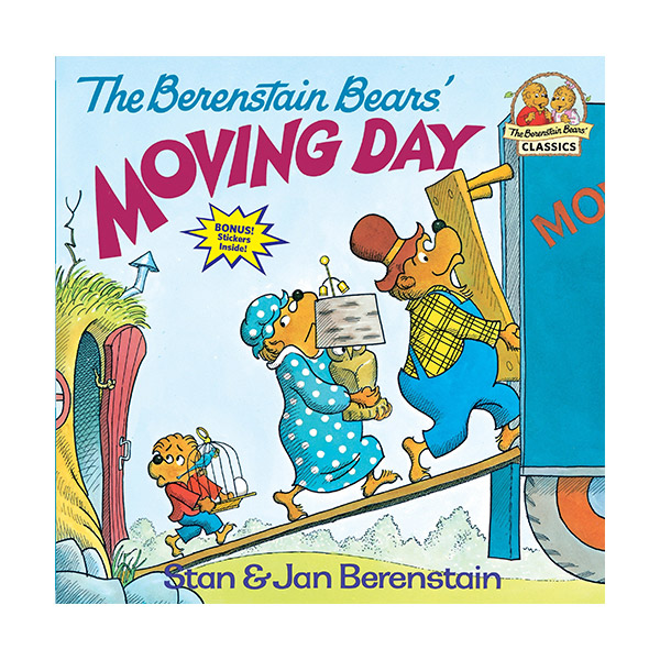 RL 3.7 : Berenstain Bears' Moving Day (Paperback)
