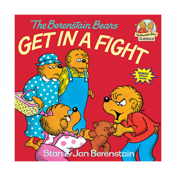 RL 3.7 : The Berenstain Bears Get in a Fight (Paperback)