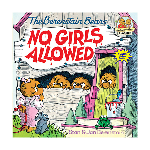 RL 3.7 : The Berenstain Bears No Girls Allowed (Paperback)
