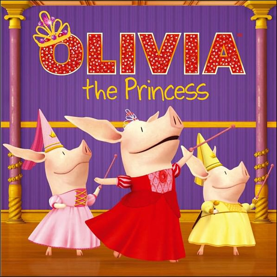 Olivia the Princess (Paperback)