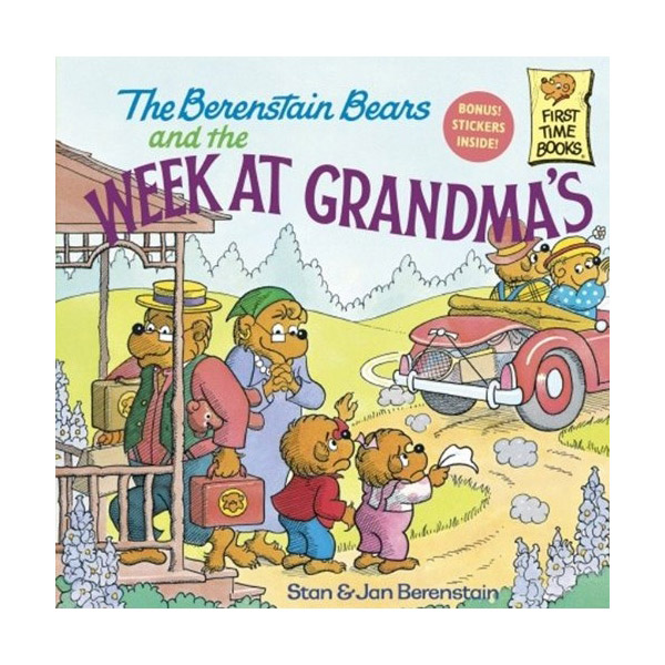 RL 3.8 : The Berenstain Bears and the Week at Grandma's (Paperback)