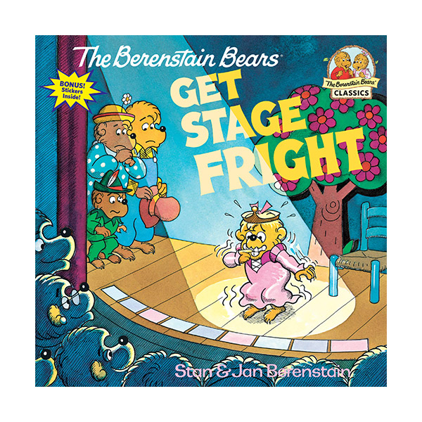 RL 3.8 : The Berenstain Bears Get Stage Fright (Paperback)