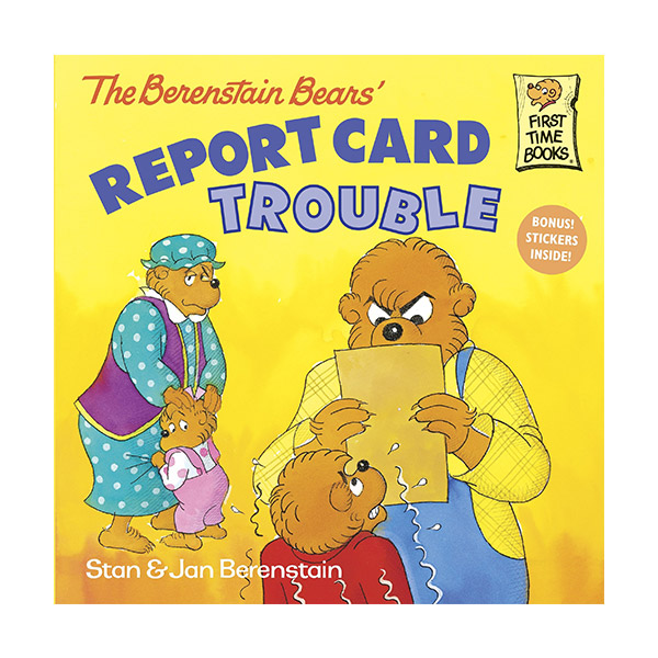 RL 3.8 : The Berenstain Bears' Report Card Trouble (Paperback)
