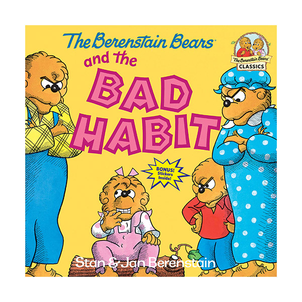 RL 3.9 : The Berenstain Bears and the Bad Habit (Paperback)