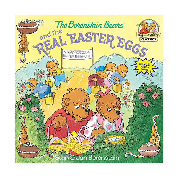 RL 3.9 : The Berenstain Bears and the Real Easter Eggs (Paperback)