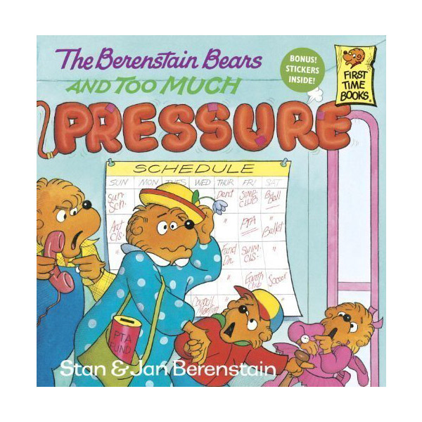 RL 3.9 : The Berenstain Bears and Too Much Pressure (Paperback)