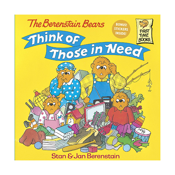 RL 3.9 : The Berenstain Bears Think of Those in Need (Paperback)