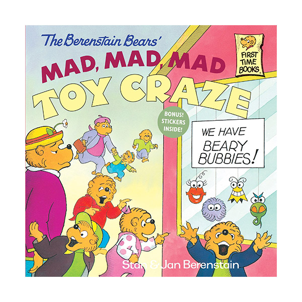 RL 3.9 : The Berenstain Bears' Mad, Mad, Mad Toy Craze (Paperback)