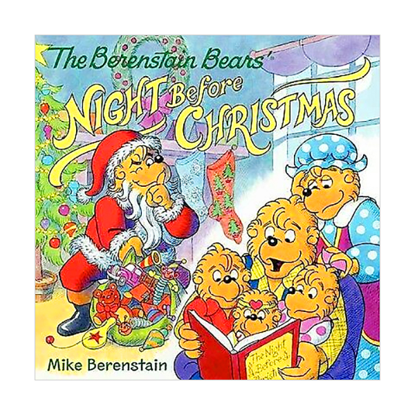 RL 3.9 : The Berenstain Bears' Night Before Christmas (Paperback)