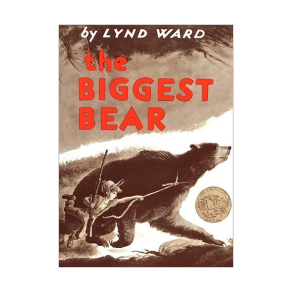 [1953 칼데콧] The Biggest Bear (Paperback, Caldecott)