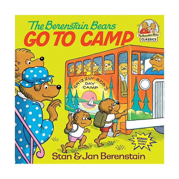 RL 4.0 : The Berenstain Bears Go to Camp (Paperback)