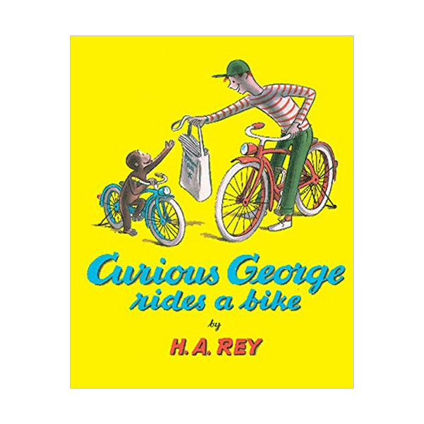 RL 4.1 : Curious George Rides a Bike (Paperback)