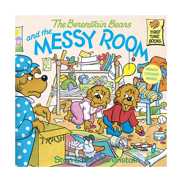 RL 4.1 : The Berenstain Bears and the Messy Room (Paperback)
