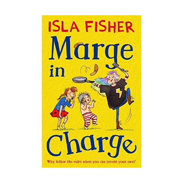RL 4.5 : The fun family series #1 : Marge in Charge (Paperback)