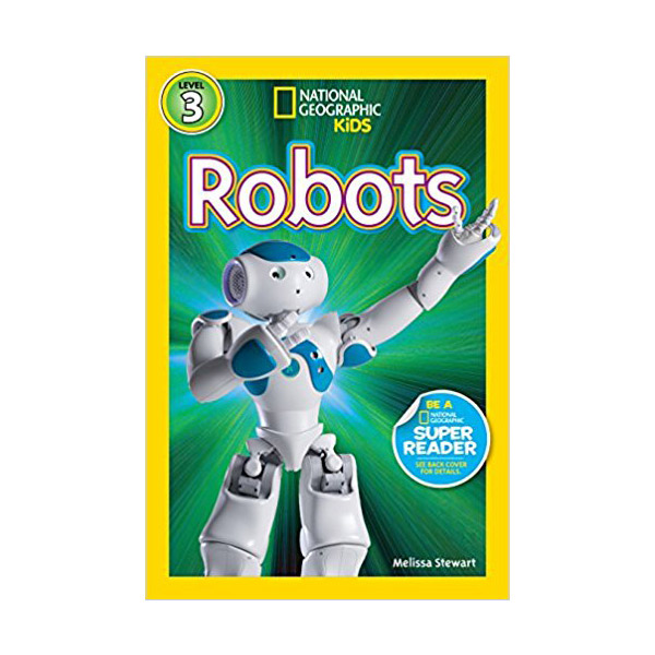 RL 5.0 : National Geographic Readers Level 3 : Robots (Paperback)