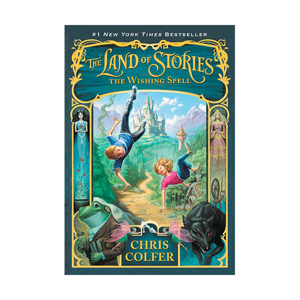 RL 5.0 : The Land of Stories #1 : The Wishing Spell (Paperback)