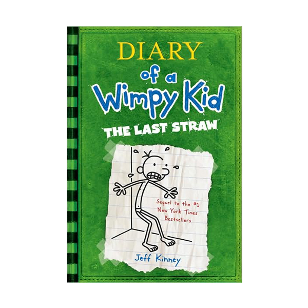 RL 5.4 : Diary of a Wimpy Kid #3 : The Last Straw (Paperback, International Edition)