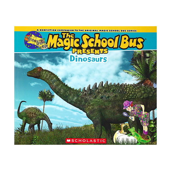 Magic School Bus Presents : Dinosaurs (Paperback)