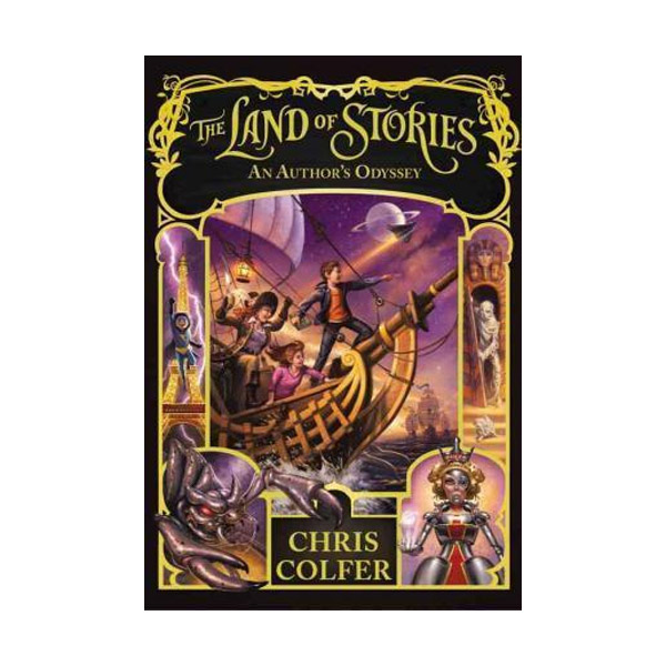 RL 5.9 : The Land of Stories #5 : An Author's Odyssey (Paperback)