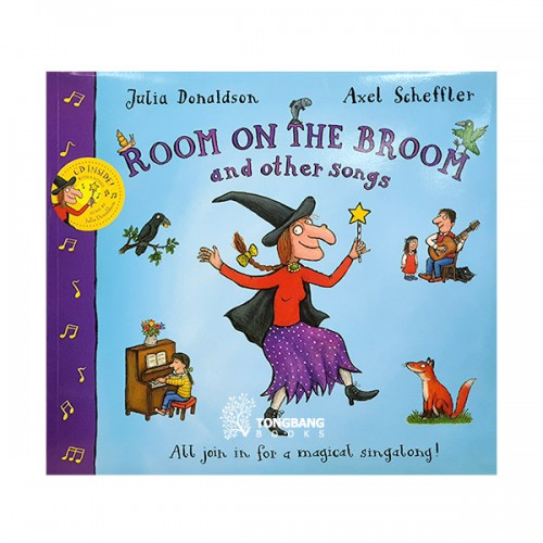 Room on the Broom and Other Songs (Book & CD, 영국판)