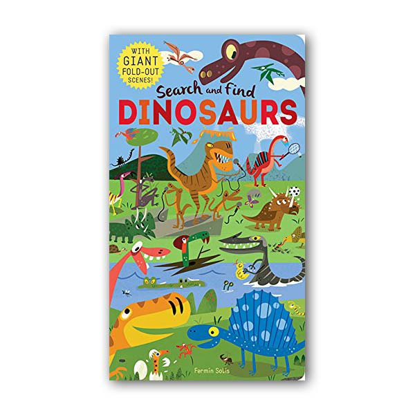 Search and Find Dinosaurs (Hardcover, 영국판)