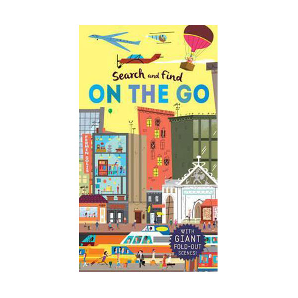 Search and Find On the Go (Hardcover, 영국판)