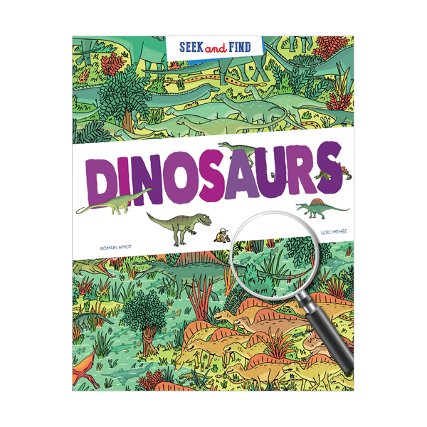Seek and Find : Dinosaurs  (Hardcover)