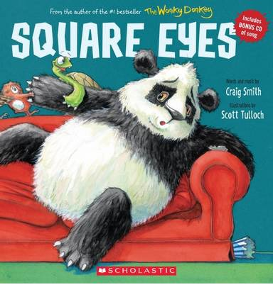 Square Eyes (Paperback & CD)