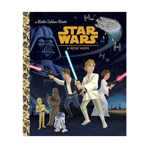 Star Wars : A New Hope : Little Golden Book (Hardcover)