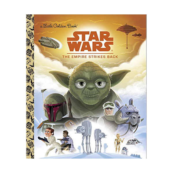 Star Wars : The Empire Strikes Back : Little Golden Book (Hardcover)