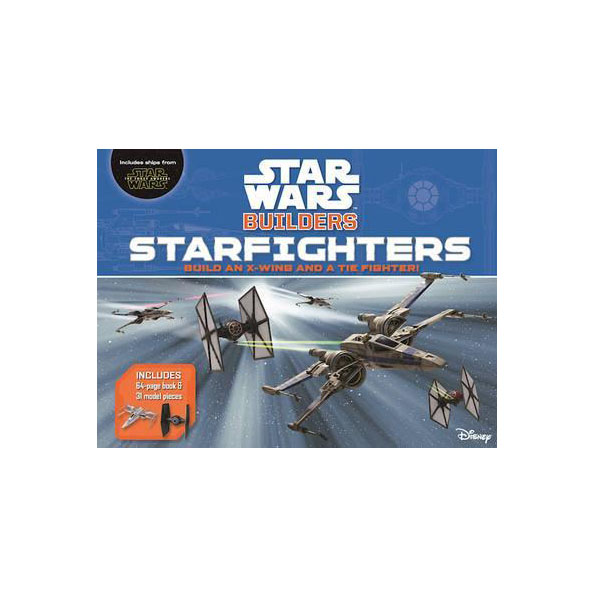 Star Wars Builders : Starfighters (Hardcover)