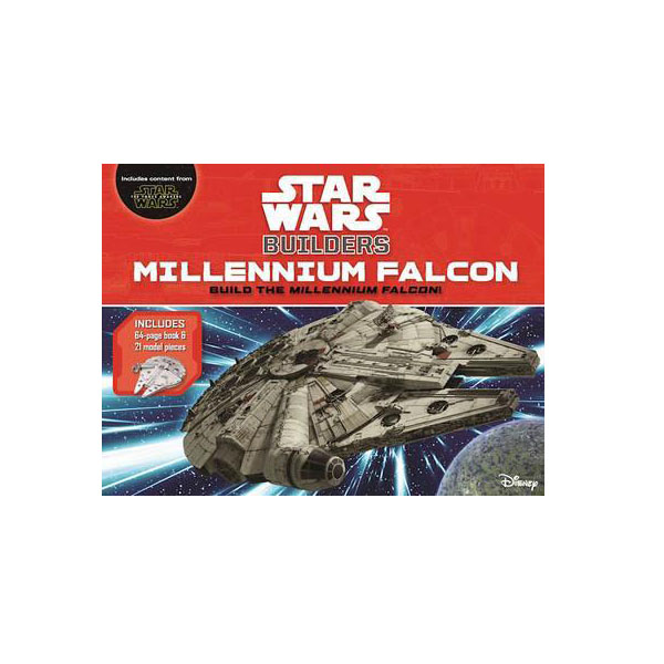 Star Wars Builders: Millennium Falcon (Hardcover)
