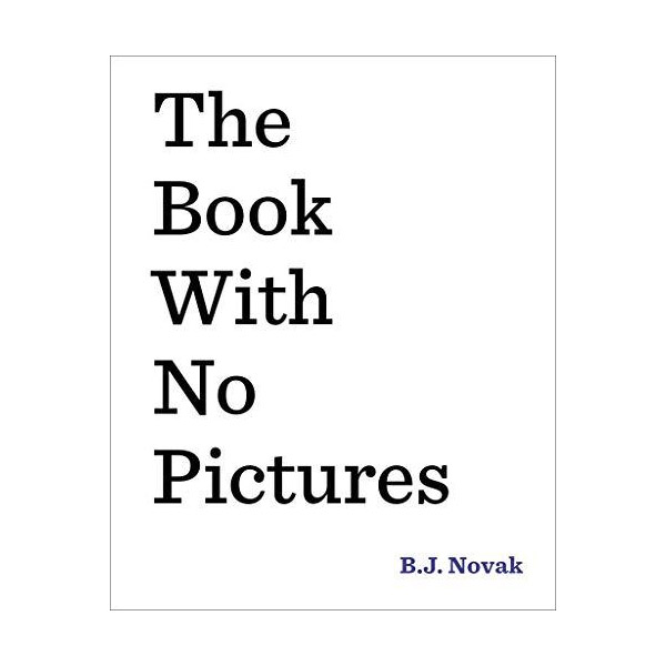 The Book With No Pictures (Hardcover)