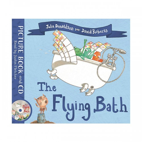 The Flying Bath (Book & CD, 영국판)