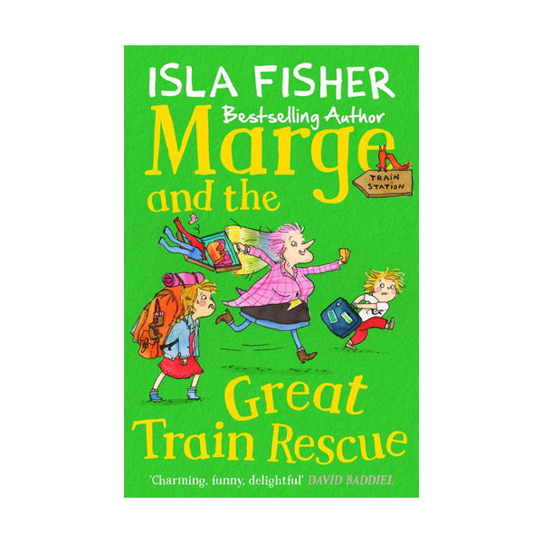 The fun family series #3 : Marge and the Great Train Rescue (Paperback)