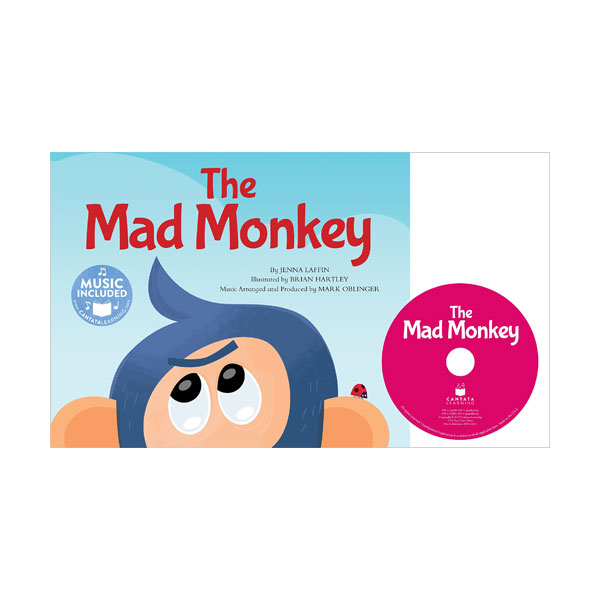 The Mad Monkey with CD (Paperback + Audio CD)