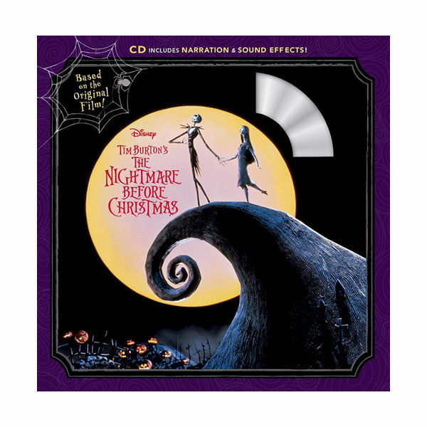 Disney Read-Along Storybook : Tim Burton's The Nightmare Before Christmas : 팀 버튼의 크리스마스 악몽 (Book and CD)
