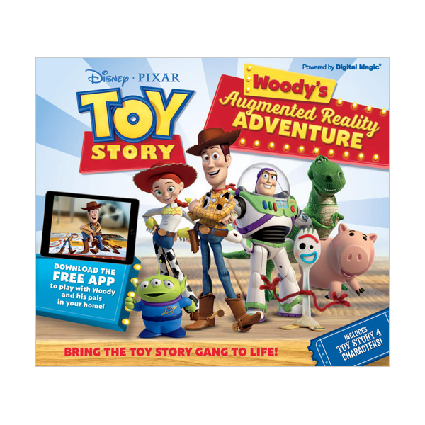 Toy Story - Woody's Augmented Reality Adventure (Hardcover, 영국판)
