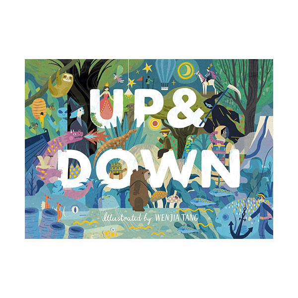Up & Down : Explore the World Above and Below (Hardcover, 영국판)