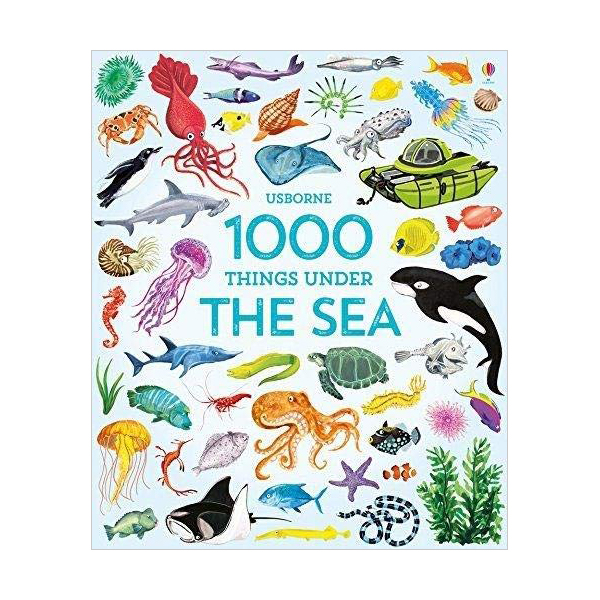 Usborne 1000 Things Under the Sea (Hardcover)