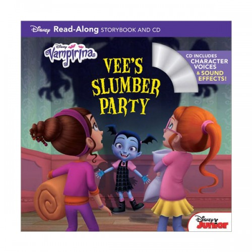 Vampirina : Read-Along Book and CD : Vee's Slumber Party (Book & CD)