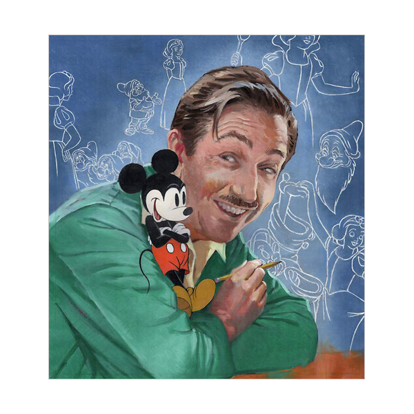 Walt's Imagination : The Life of Walt Disney (Paperback)