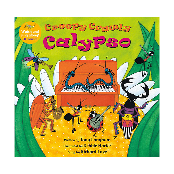 Watch and Sing Along : Creepy Crawly Calypso (Paperback & CD)