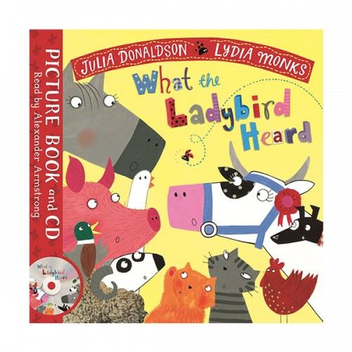 What the Ladybird Heard (Paperback, Book & CD, 영국판)