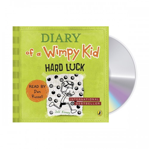 Diary of a Wimpy Kid book #8 : Hard Luck (Audio CD,영국판) (도서미포함)
